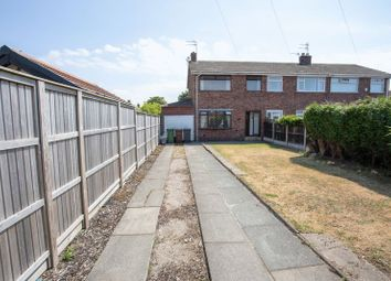Thumbnail 3 bed end terrace house for sale in Manion Avenue, Lydiate, Liverpool