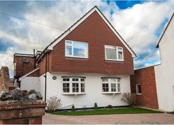 Thumbnail 4 bed detached house for sale in Headley Road East, Woodley