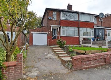 Thumbnail 3 bed semi-detached house for sale in Agecroft Road West, Prestwich, Manchester