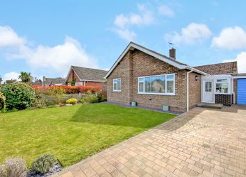 Thumbnail 3 bed detached bungalow for sale in Meadow Close, North Walsham