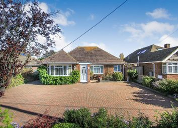 Thumbnail 3 bed detached bungalow for sale in Chestfield Road, Chestfield, Whitstable