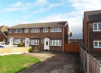 Thumbnail 3 bedroom end terrace house for sale in Collier Row, Romford, Essex