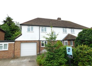 Thumbnail 4 bed semi-detached house to rent in Villiers Close, Surbiton