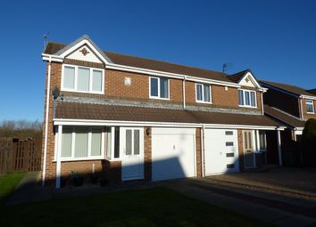 Thumbnail 3 bedroom semi-detached house to rent in Ploverfield Close, Ashington