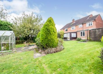 Thumbnail 4 bed semi-detached house for sale in Hall Road, Scraptoft, Leicester