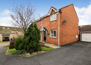 Thumbnail 2 bed semi-detached house for sale in Hall Farm Park, Micklefield