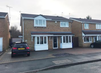 Thumbnail 2 bed semi-detached house for sale in Harlech Way, Stretton, Burton-On-Trent