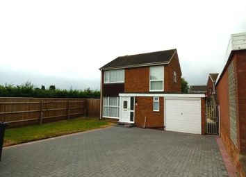 Thumbnail 3 bed detached house for sale in Wolseley, Lakeside, Tamworth, Staffordshire