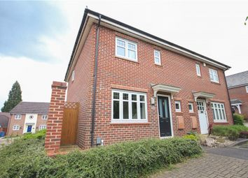 Thumbnail 3 bedroom semi-detached house for sale in Chineham Close, Fleet