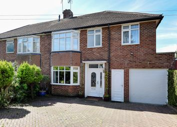 Thumbnail 4 bedroom semi-detached house for sale in Cole Green Lane, Welwyn Garden City, Hertfordshire