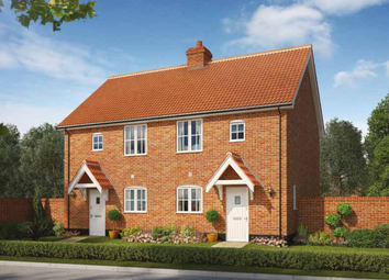 Thumbnail 2 bed semi-detached house for sale in Church Hill, Saxmundham, Suffolk