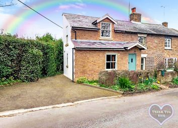 3 bed semi-detached house for sale in Springhall Hill Cottages, Buckland Common, Tring, Hertfordshire HP23