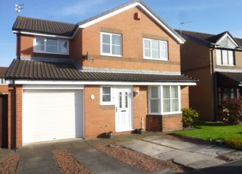 Thumbnail 4 bed detached house for sale in Birchwood Close, Seghill, Cramlington