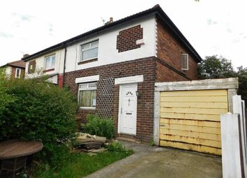 Thumbnail 2 bedroom semi-detached house for sale in Ashburton Road, Stockport