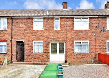 Thumbnail 3 bed terraced house for sale in Thornham Road, Twydall, Gillingham, Kent