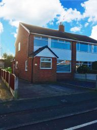 Thumbnail 3 bedroom semi-detached house for sale in Cromwell Road, Irlam, Manchester