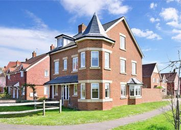 Thumbnail 4 bed detached house for sale in Bellows Close, Maresfield, Uckfield, East Sussex