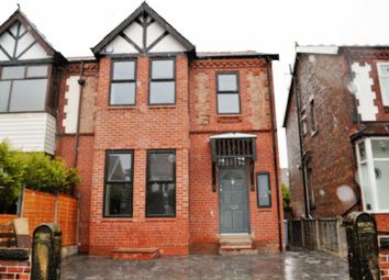 Thumbnail 4 bed property to rent in Claremont Road, Salford