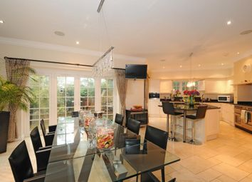 Thumbnail 6 bed detached house to rent in Cobbetts Hill, Weybridge