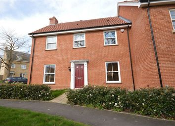 Thumbnail 3 bedroom end terrace house for sale in Kevill Davis Drive, Little Plumstead, Norwich