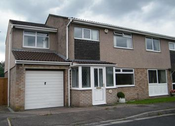 Thumbnail 4 bed semi-detached house for sale in Hunters Close, Hanham, Bristol