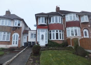 Thumbnail 3 bed semi-detached house to rent in College Road, Sutton Coldfield
