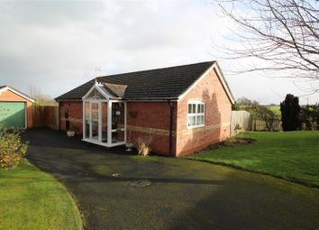 Thumbnail 3 bed detached bungalow for sale in Heather Bank, Gobowen, Oswestry