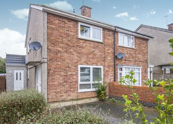 Thumbnail 2 bedroom semi-detached house for sale in Brook Road, Thurnby Lodge, Leicester