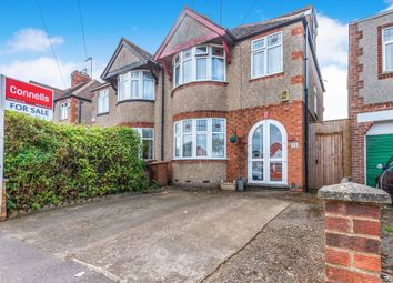 Thumbnail 4 bedroom semi-detached house for sale in Gloucester Avenue, Northampton