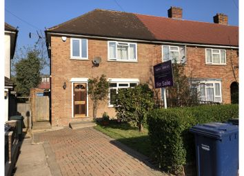 Thumbnail 3 bed end terrace house for sale in Salcombe Gardens, London