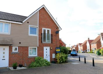 Thumbnail 1 bed end terrace house to rent in Cleeve Road, Bramley Fields, Marnel Park, Basingstoke