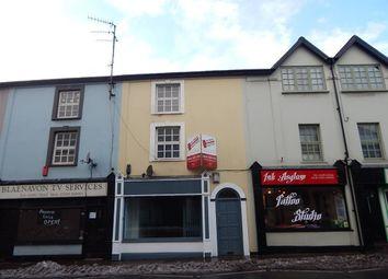 Thumbnail 1 bedroom flat to rent in Clarence Street, Pontypool