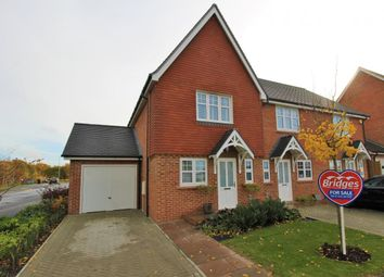 Thumbnail 2 bed end terrace house for sale in Starling Way, Fleet