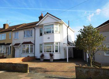 Thumbnail 3 bedroom end terrace house for sale in Boleyn Avenue, Enfield