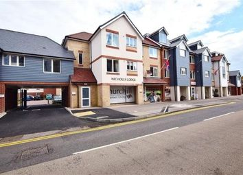 Thumbnail 1 bed flat for sale in Nicholls Lodge, South Street, Bishop's Stortford