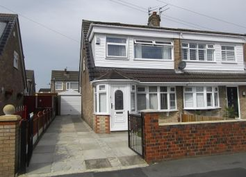 Thumbnail 3 bed semi-detached house for sale in Wray Avenue, Clockface, St.Helens