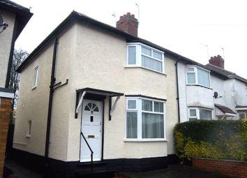 Thumbnail 3 bedroom semi-detached house to rent in Moreton Road, Wolverhampton