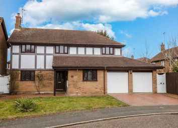 Thumbnail 4 bedroom detached house for sale in Gresham Drive, West Hunsbury, Northampton