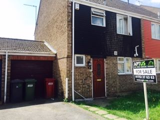 Thumbnail 3 bedroom semi-detached house for sale in Rochfords Gardens, Slough