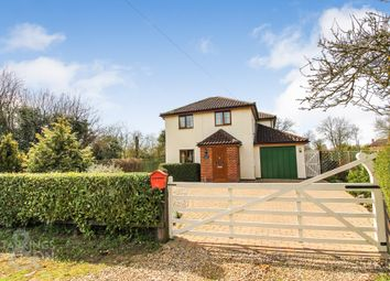 Thumbnail 4 bed cottage for sale in Church Road, Topcroft, Bungay