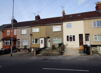Thumbnail 2 bed terraced house for sale in Kingshill Road, Swindon