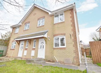 Thumbnail 3 bed semi-detached house for sale in Connaught Road, East Cowes