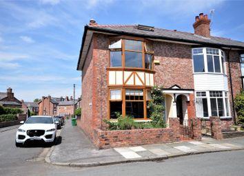 Thumbnail 3 bed end terrace house for sale in Cawdor Street, Stockton Heath, Warrington