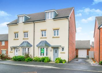 Thumbnail 4 bed town house for sale in Clos Y Mametz, Newton, Porthcawl