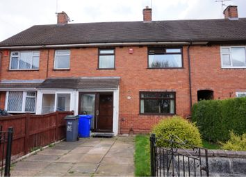 Thumbnail 3 bed town house for sale in Springfields Road, Harpfields, Stoke-On-Trent