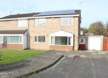 Thumbnail 3 bed semi-detached house for sale in Manse Close, Cantley, Doncaster