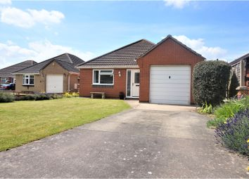 Thumbnail 3 bed detached bungalow for sale in Highfield Close, North Thorseby