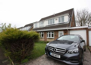 Thumbnail 3 bed semi-detached house for sale in Harpford Drive, Breightmet, Bolton