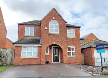 Thumbnail 4 bed detached house for sale in Lowes Drive, Tamworth