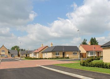 Thumbnail 1 bed bungalow for sale in The Browning, Chesham Drive, Baston, Peterborough
